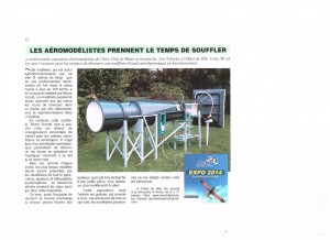 article d'un journal de Wavre 001